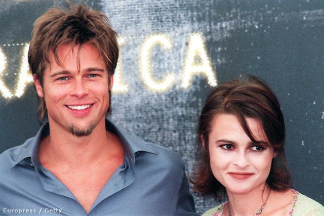 Brad Pitt és Helena Bonham Carter a Harcosok klubjának promókörútján