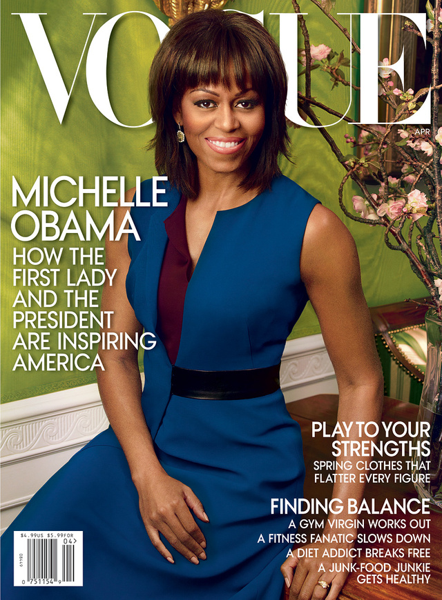 Michelle Obama a 2013-as címlapon