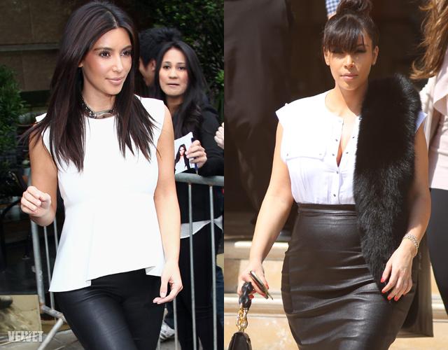 Kim Kardashian alakja a terhessége előtt, és napjainkban, A különbség szemmel látható, és részben indokolt.