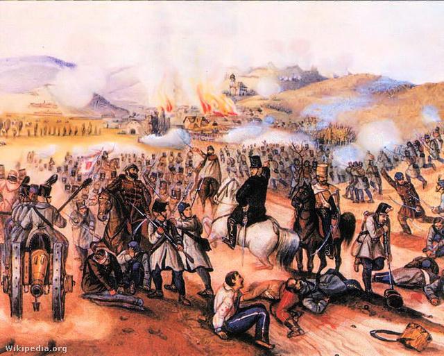 Az isaszegi csata (Than Mór festménye)