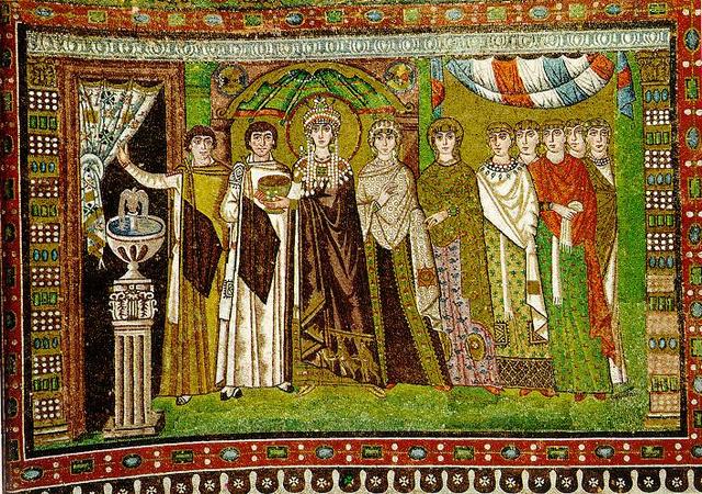 Theodora és szolgálói