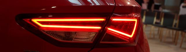 A hátsó LED-es lámpatest