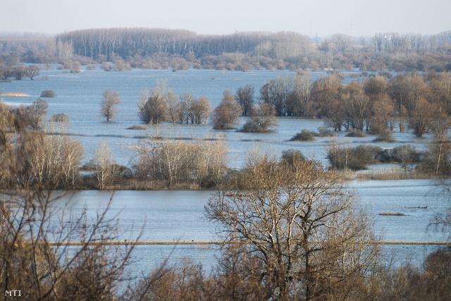 Árvíz 2013 márciusában a Bodrogközben