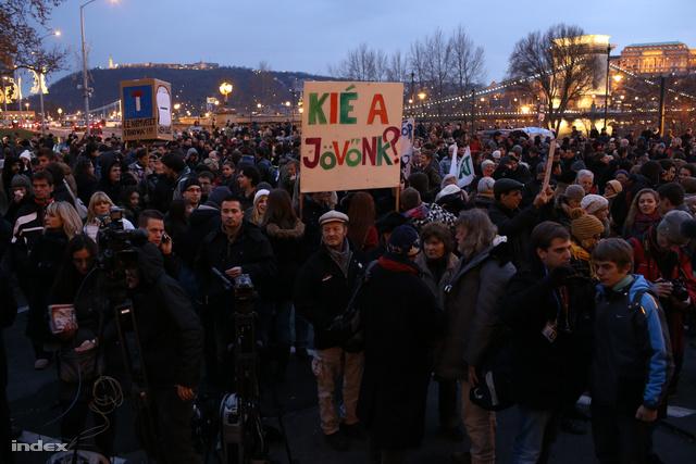 Diáktüntetés 2012. decemberében