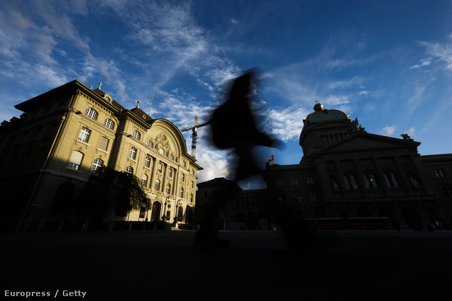 A svájci Nemzeti Bank épülete Bernben
