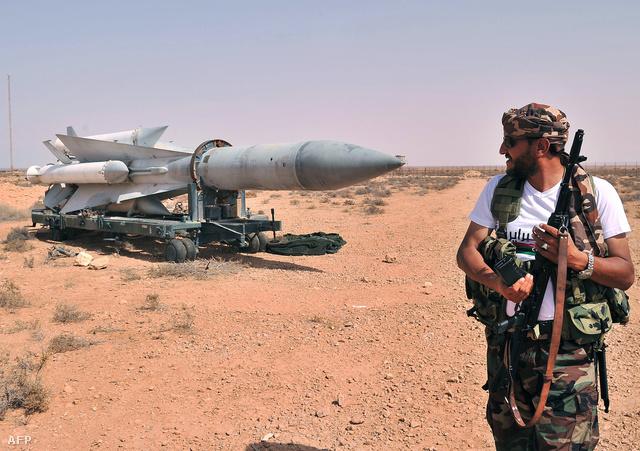 SA-5 Líbiában