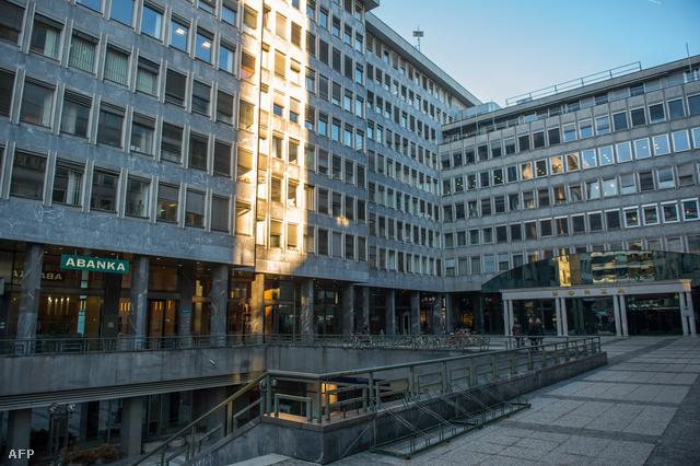 Szlovénia egyik legnagyobb pénzintézetének székháza
