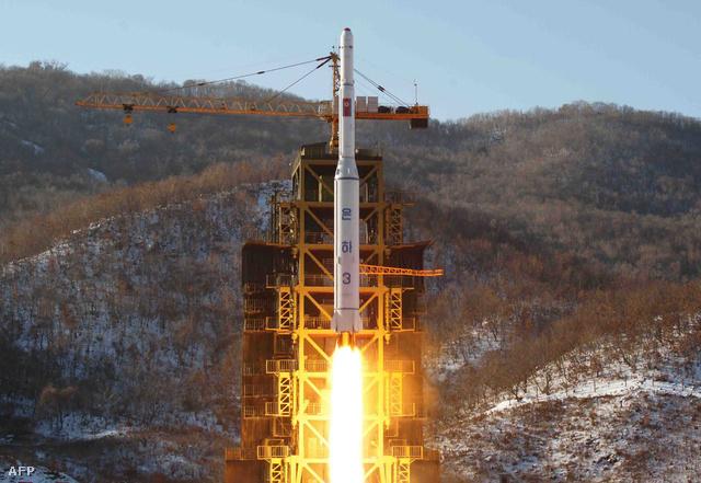 Unha-3 hordozórakéta Észak-Koreában