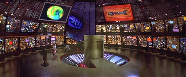 A Cygnus űrhajó fedélzete az 1979-es A fekete lyukból