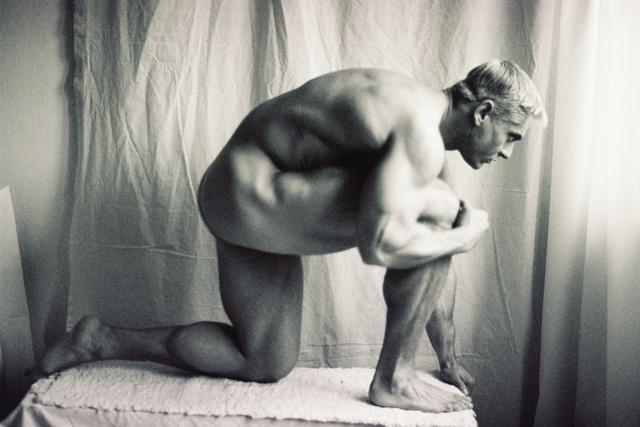 Halász Károly: Testépítő reneszánsz modorban, 2000. A művész jóvoltából