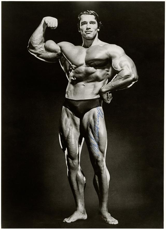 Jimmy Caruso: Arnold Schwarzenegger, 1978. Münchner Stadtmuseum