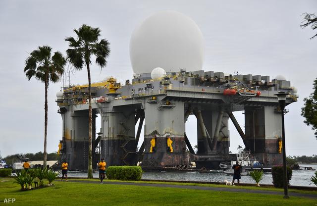 Tengeri radarállomást telepített Dél-Koreába az Egyesült Államok haditengerészete