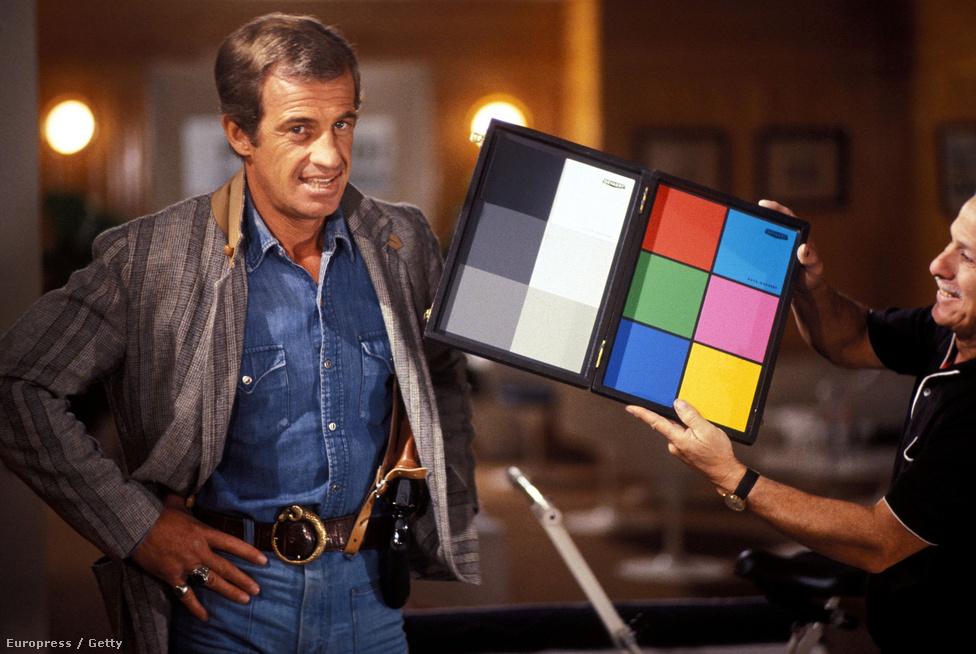A Zsaru vagy csirkefogó? forgatásán 1979-ben. Ez a film volt a kezdete Belmondo és a rendező, Georges Lautner együttműködésének. Annyira jól tudtak együtt dolgozni, hogy még négy filmet csináltak közösen.
