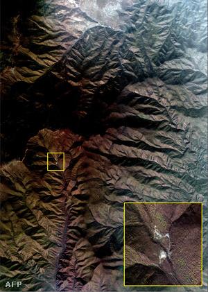 Az első koreai atomrobbantás helyszíne