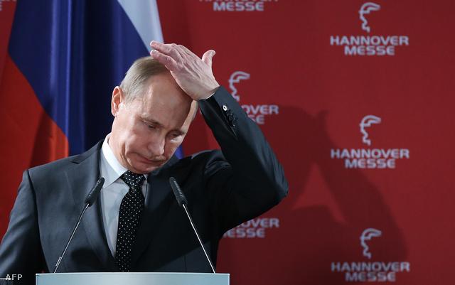 Putyin Németországban
