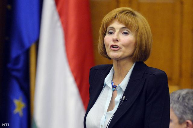 Lendvai Ildikó az Országgyűlés plenáris ülésén 2013. március 25-én
