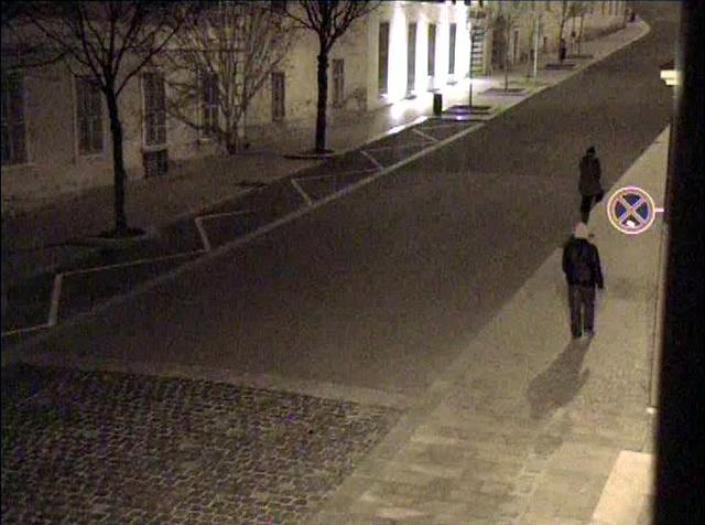 Térfigyelő kamera által készített felvétel az elkövetőről