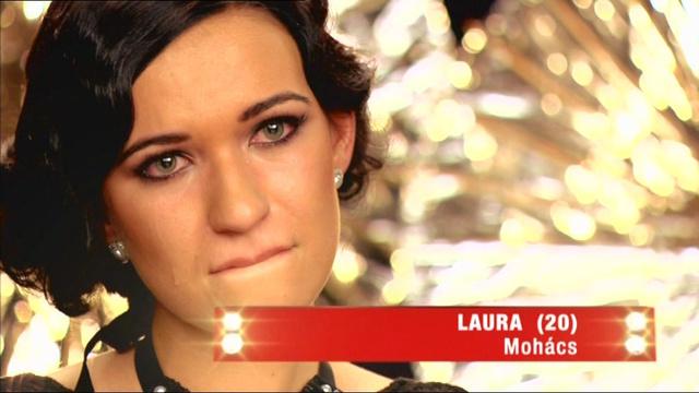 A mohácsi Laura kiesett