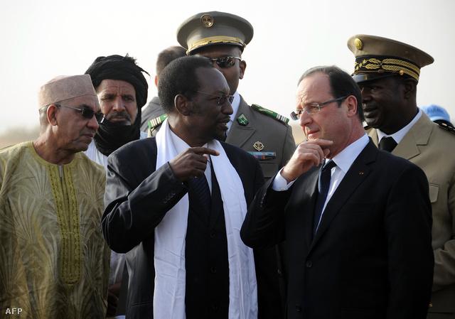 Dioncounda Traoré és Francois Hollande