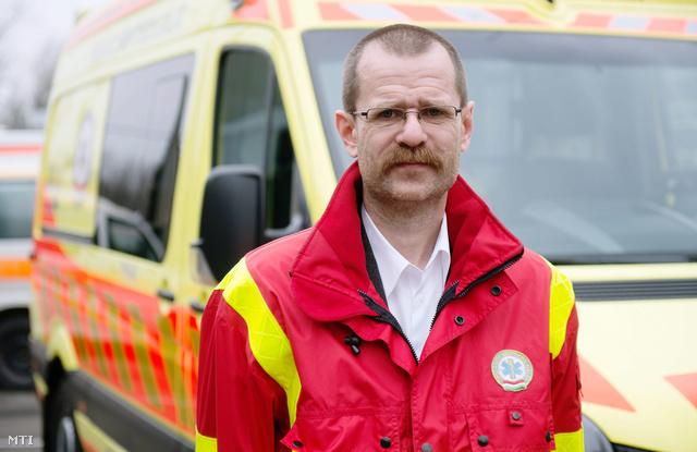 Burány Béla, a mentőszolgálat új vezetője