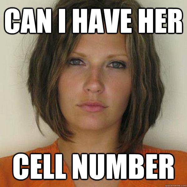 Megkaphatnám a cellája számát?