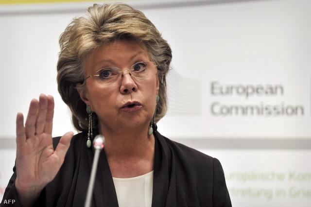 Viviane Reding, az Európai Bizottság alelnöke és igazságügyi kérdésekben, alapvető jogokban és állampolgársági ügyekben illetékes luxemburgi tagja