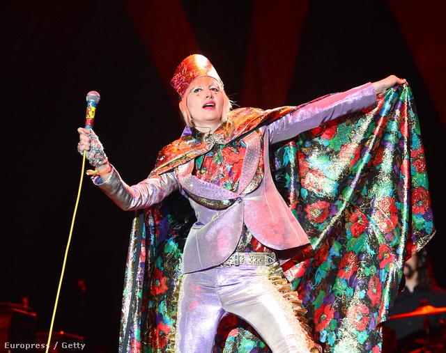 Karen O a Coachella fesztivál színpadán