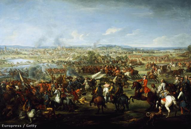 A második höchstädti csata 1704. augusztus 13-án