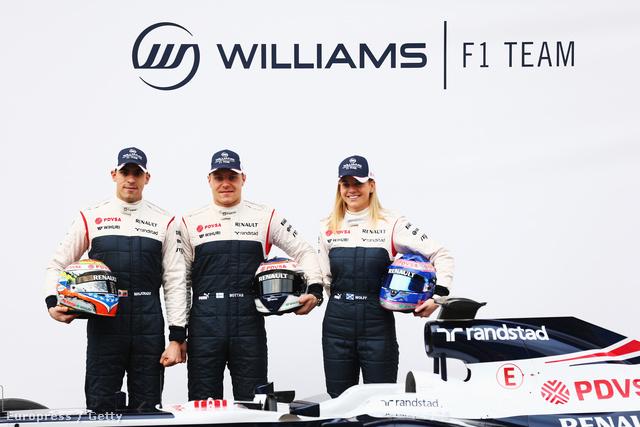 Maldonado, Bottas és Wolff