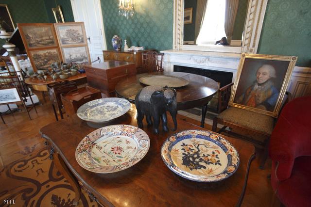 A Sigray-hagyaték egy része a keszthelyi Helikon Kastélymúzeumban