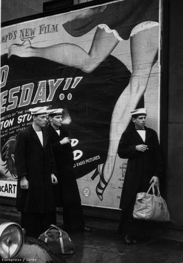 Brit tengerészek Londonban (1951).
