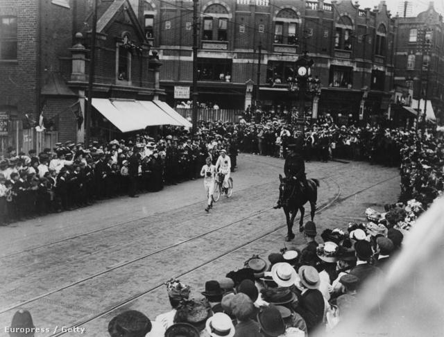 John Hayes az 1908-as londoni olimpián