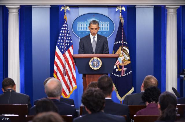 Barack Obama a keddi sajtótájékoztatón