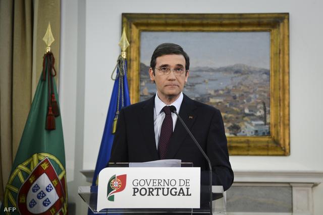 Pedro Passos Coelho portugál miniszterelnök