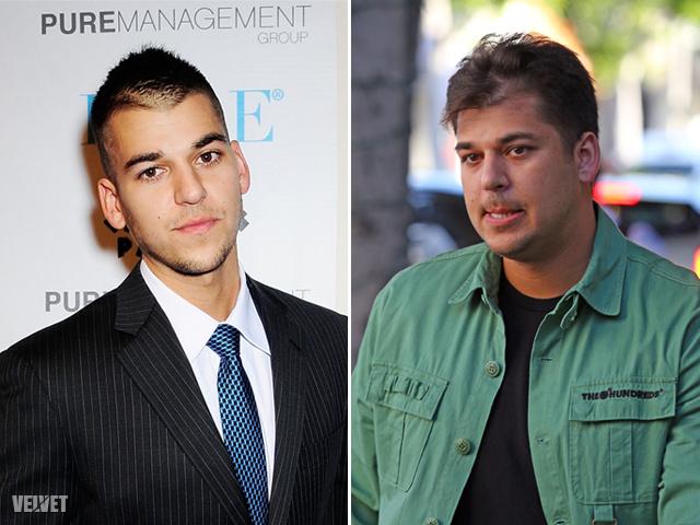 Rob Kardashian régen és most