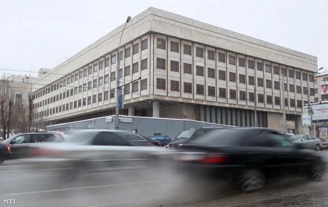 A moszkvai kereskedelmi képviselet egykori épülete