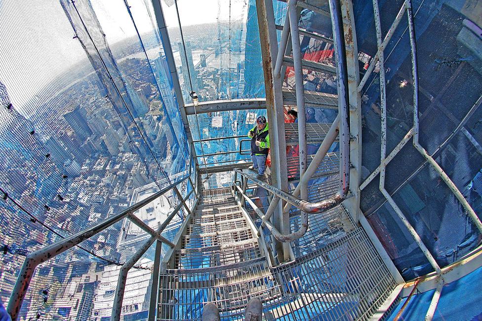A kilátás egészen egyedülálló lesz a közel 4 milliárd dollárba kerülő épületből.