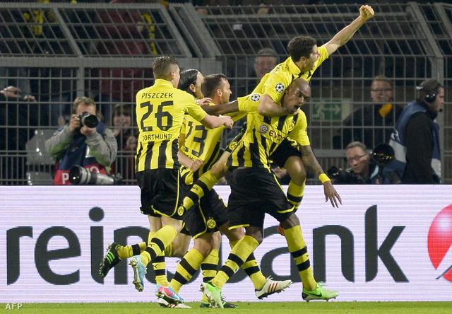 A Dortmund fantasztikus végjátékkal győzött.