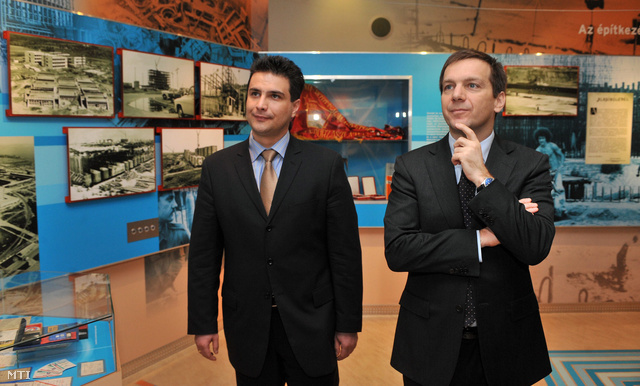 Mesterházy Attila és Bajnai Gordon 2010-ben