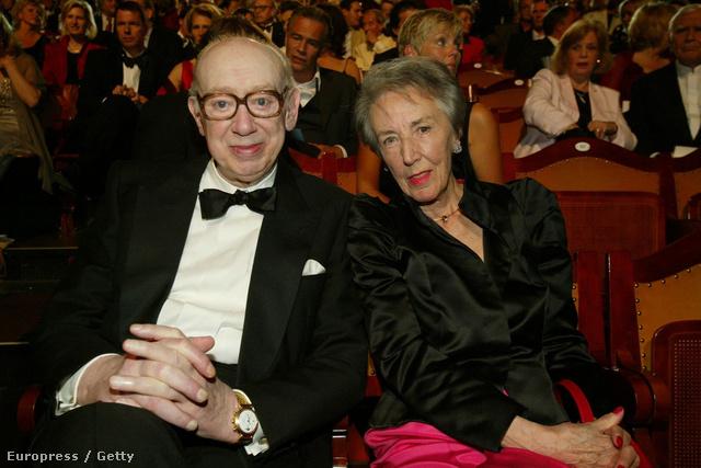Horst Tappert és felesége, Ursula a bajor tévések díjátadóján, 2003-ban.