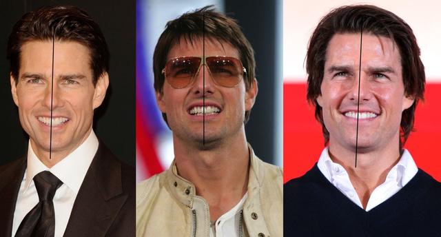 Tom Cruise egyik metszőfoga pont középen van