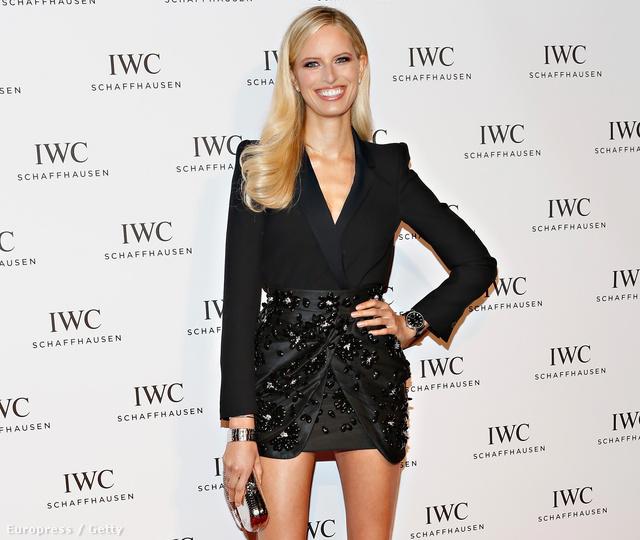 Karonlina Kurková a Tribeca Filmfesztivál egyik megnyitó rendezvényén