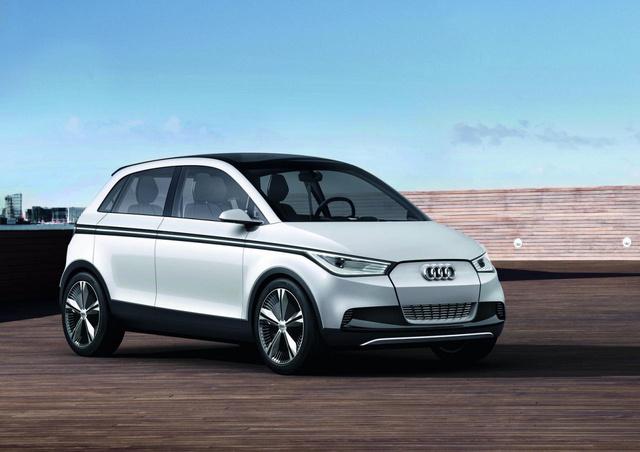 Audi A2 EV Concept
