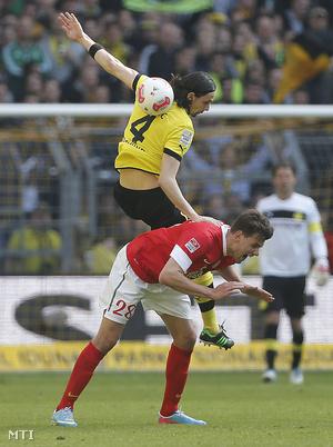 Szalai balesete a Mainz–Dortmund-meccsen