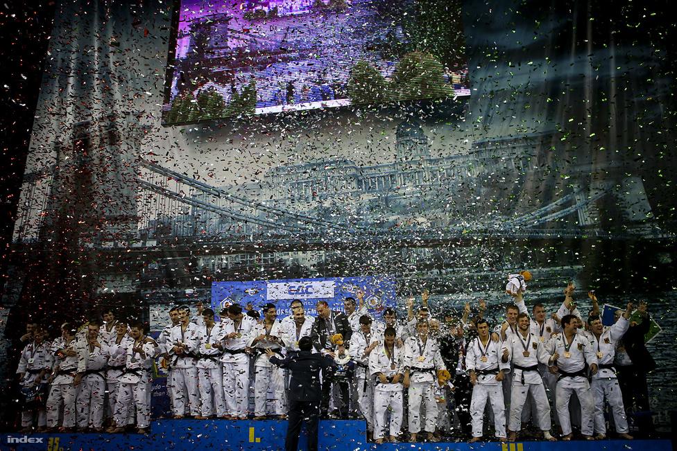 A csapatversennyel fejeződött be a négy napos Európa-bajnokság