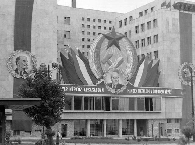 A mai Képviselői Irodaház 1950-ben