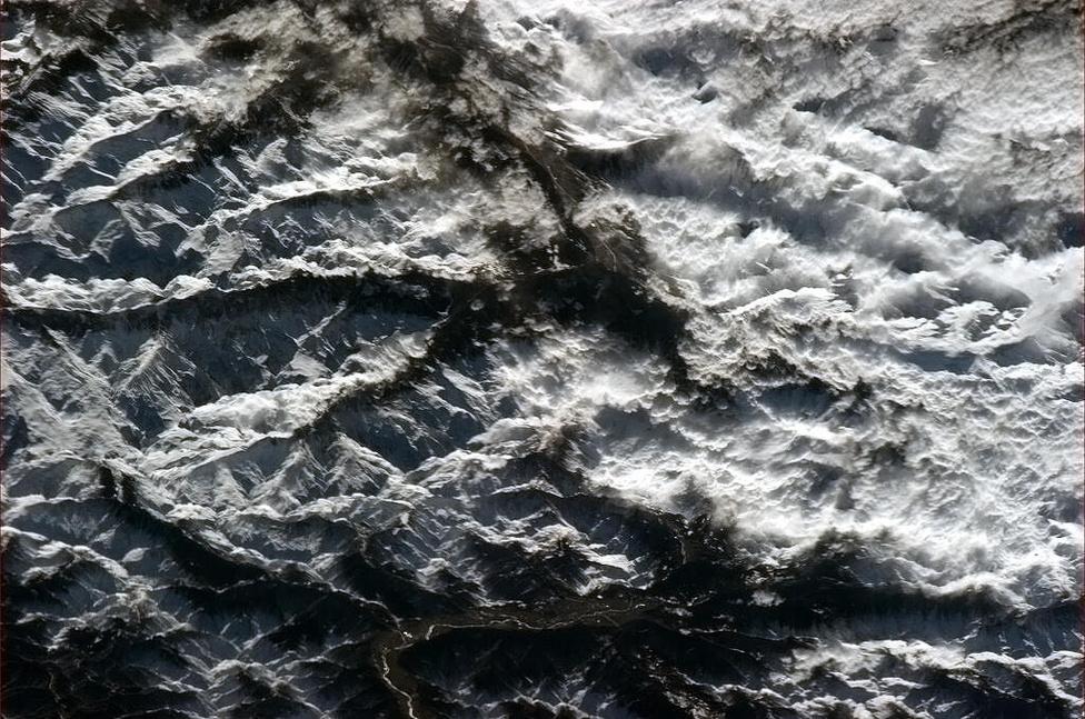 Az Alpok csipkézett szépsége