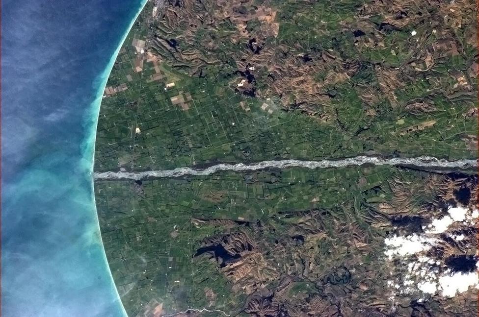 Szögmérő Új-Zéland partjainál