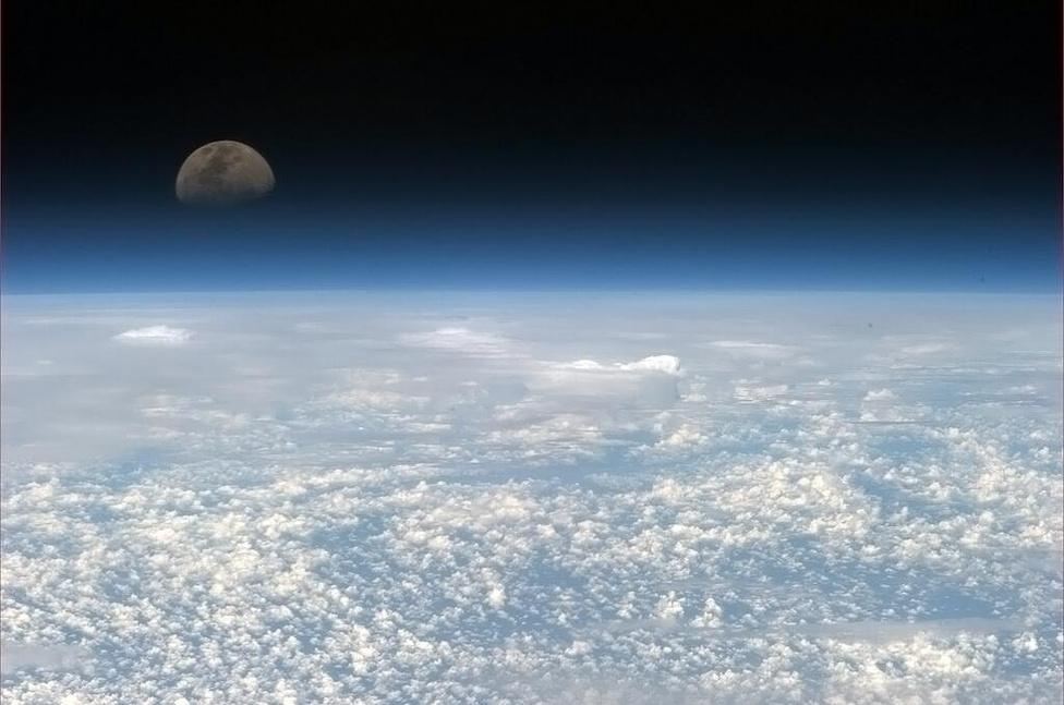 A Holdfelkelte lefényképezéséhez türelem kell, de megéri