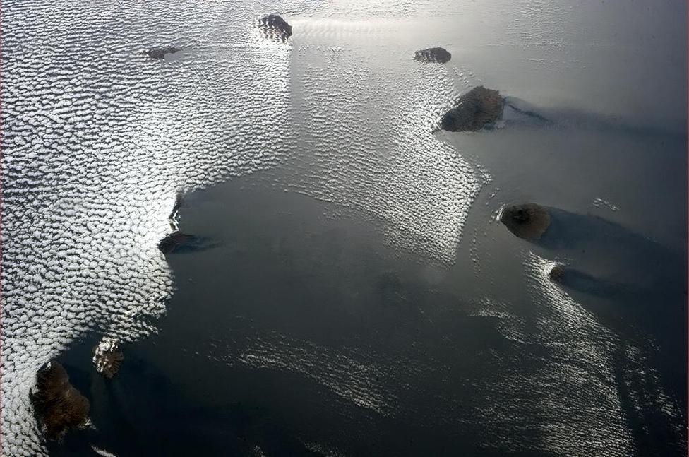 Zöld-foki szigetek, mintha egy rugby csapat állítaná meg a felhőket